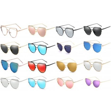 dostępne kolory okularów cat eye